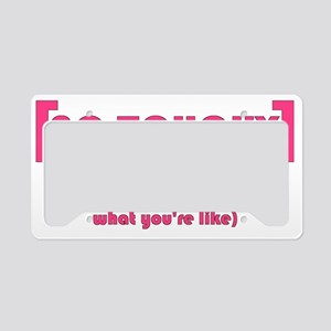 [No Touchy] License Plate Holder